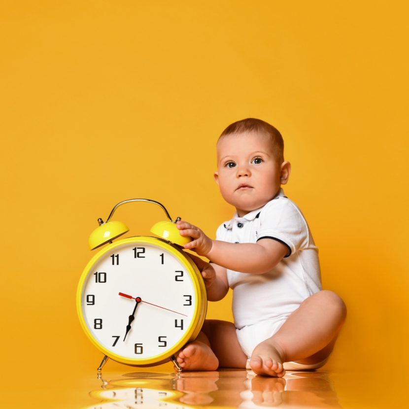 shutterstock 1597851607 1 830x830 - How to deal with the clocks changing and your little ones routine.