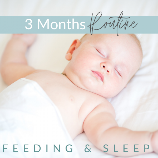 1 - 3 Months -  Feeding and Sleep Routines