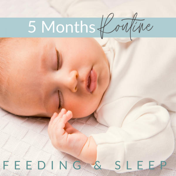 4 - 5 Months -  Feeding and Sleep Routines