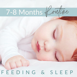 6 300x300 - 7 - 8 Months -  Feeding and Sleep Routines