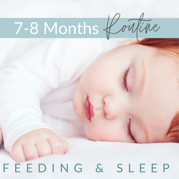 6 - 7 - 8 Months -  Feeding and Sleep Routines
