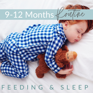 7 300x300 - 9 - 12 Months -  Feeding and Sleep Routines